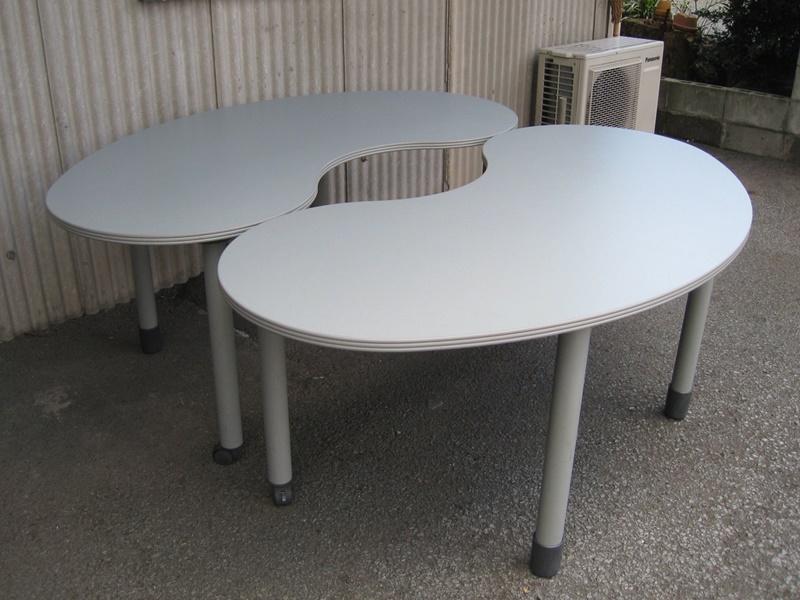 ラウンド型 ミーティングテーブル