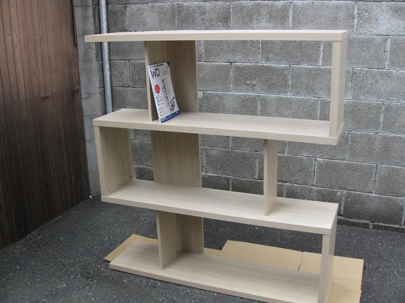木製 飾り書棚