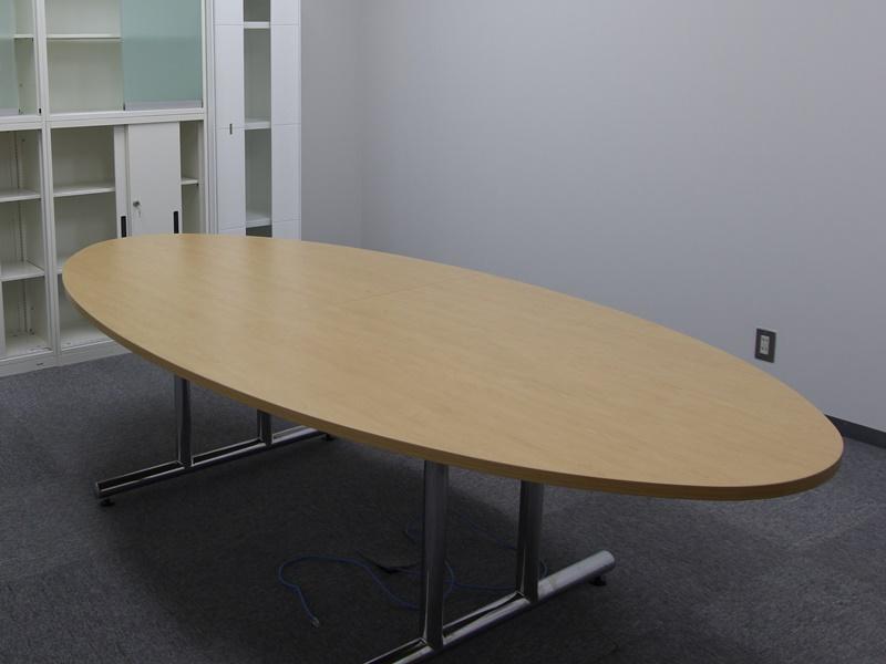 ミーティングテーブル 楕円型